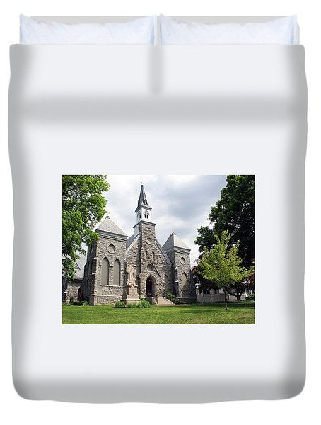 Edward The Confessor Duvet Cover