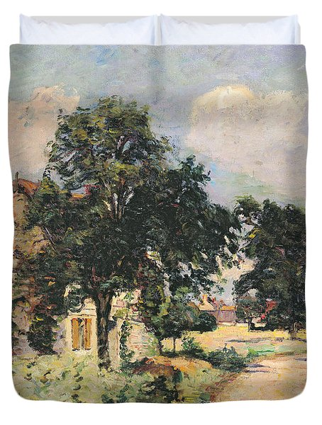 Effect Of The Sun Duvet Cover by Jean Baptiste Armand Guillaumin