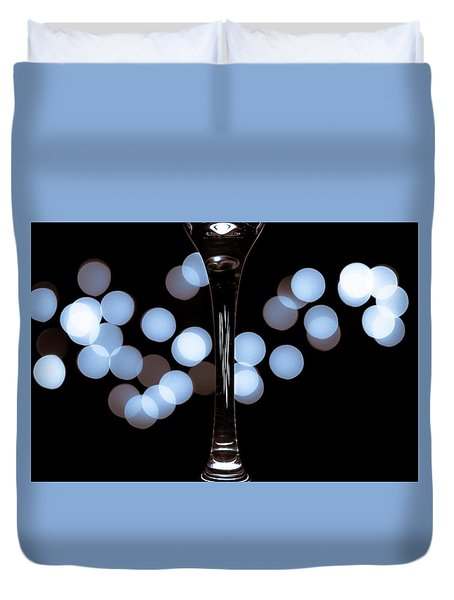 Duvet Cover featuring the photograph Effervescence by David Sutton