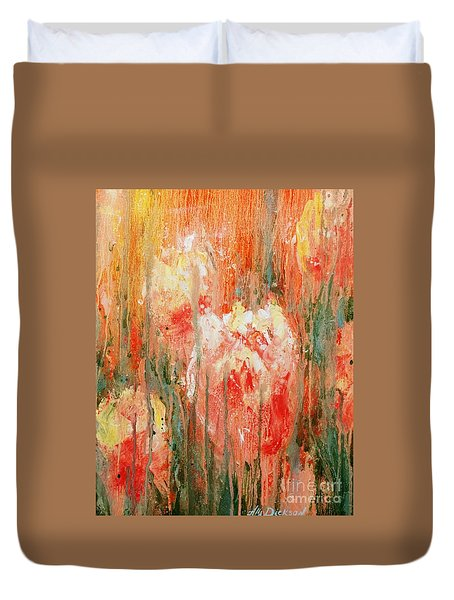 Efflorescence Duvet Cover