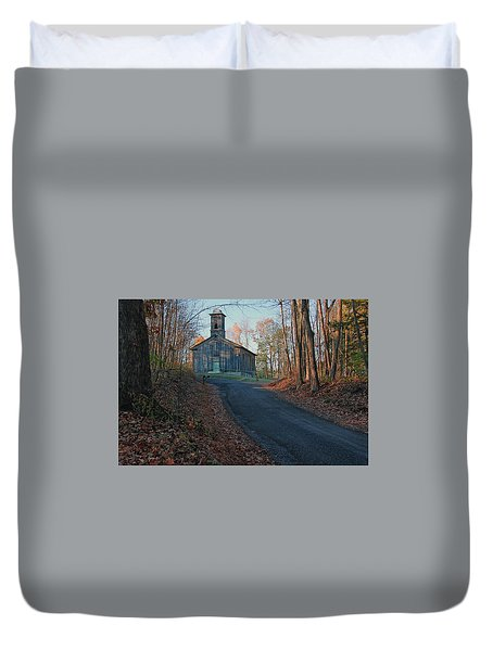 Egg Hill Church  Duvet Cover