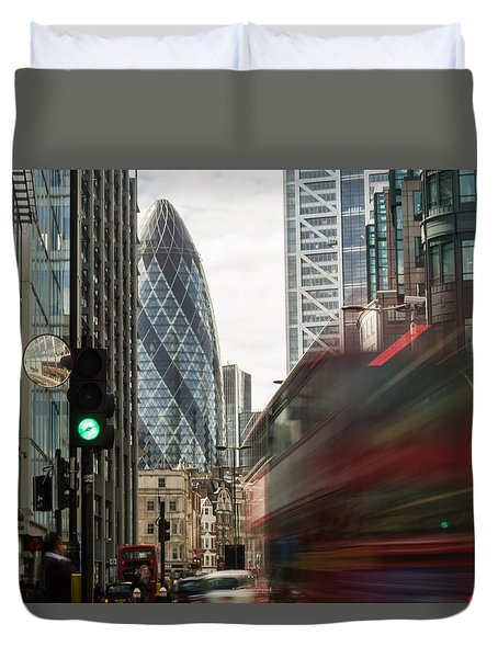 Egg Shaped Building A Duvet Cover