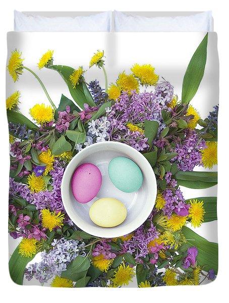 Eggs In A Bowl Duvet Cover