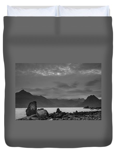 Egol Beach On The Isle Of Skye In Scotland Duvet Cover