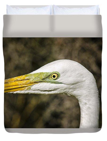 Egret Eye Duvet Cover