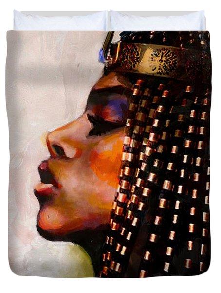 Egyptian Culture 39b Duvet Cover