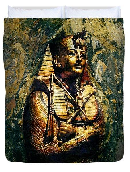 Egyptian Culture 3b Duvet Cover