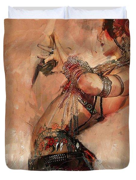 Egyptian Culture 40 Duvet Cover