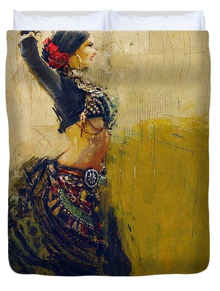 Egyptian Culture 77 Duvet Cover