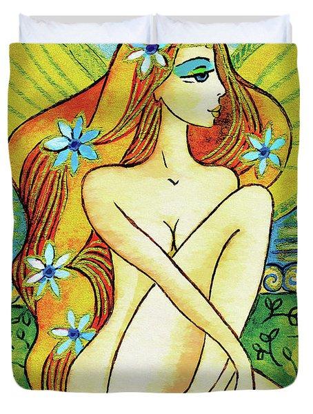 Egyptian Fairy I Duvet Cover