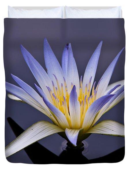 Egyptian Lotus Duvet Cover
