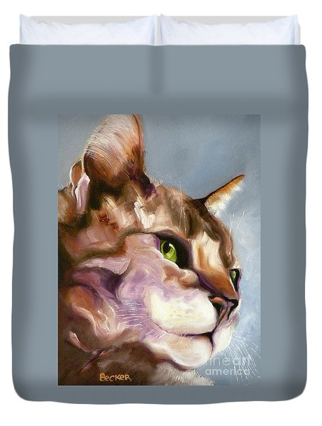 Egyptian Mau Princess Duvet Cover