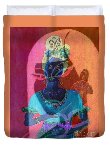 Egyptian Queen Duvet Cover