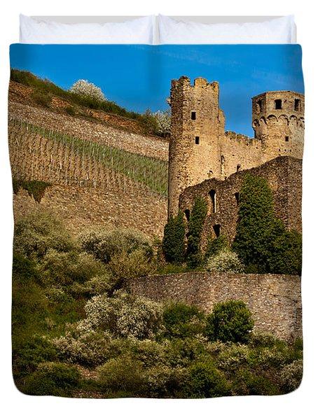Ehrenfels Castle Ruin Duvet Cover