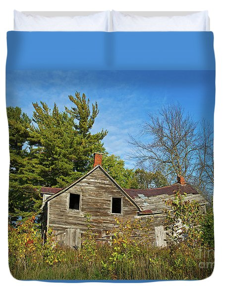 Duvet Cover featuring the photograph Eidolic.. by Nina Stavlund