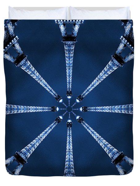 Eiffel Art 17 Duvet Cover by Mike McGlothlen