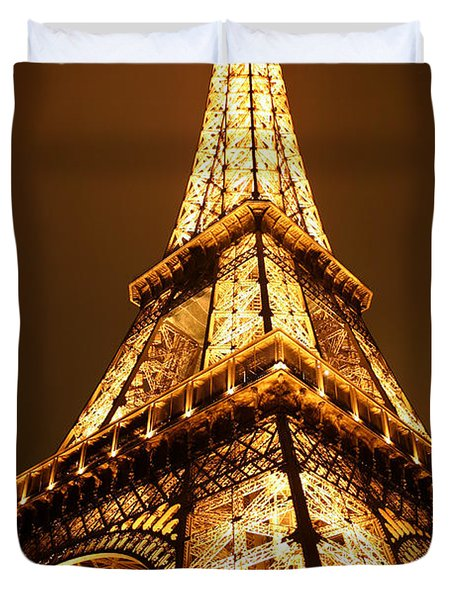 Eiffel Duvet Cover by Skip Hunt