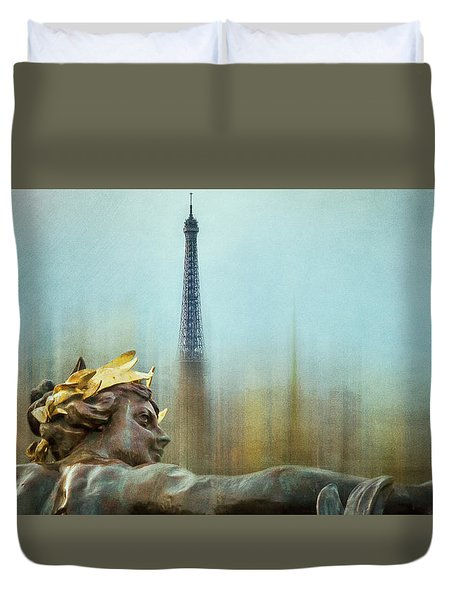 Eiffel Tower 1 Duvet Cover