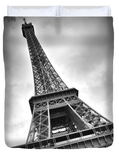 Eiffel Tower Dynamic Duvet Cover by Melanie Viola