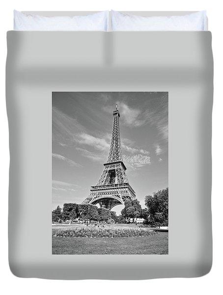 Eiffel Tower Duvet Cover by Matt MacMillan