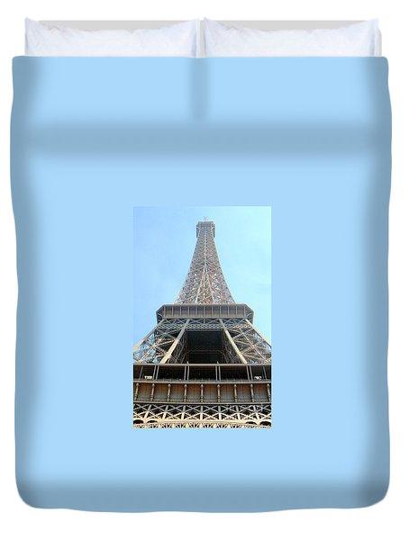 Eiffil Tower Paris France  Duvet Cover