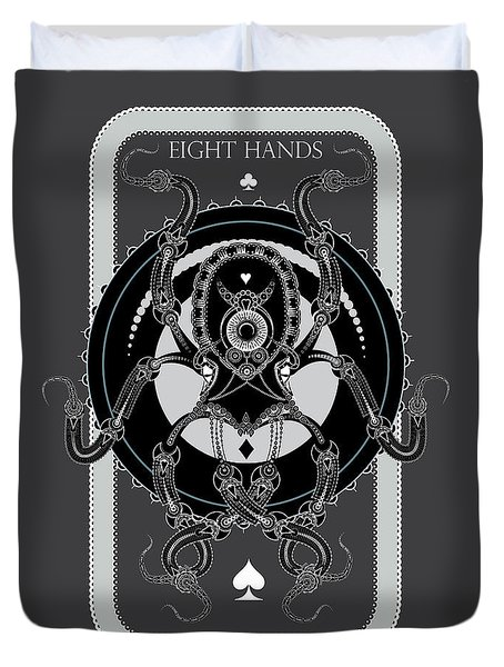 Eight Hands Duvet Cover
