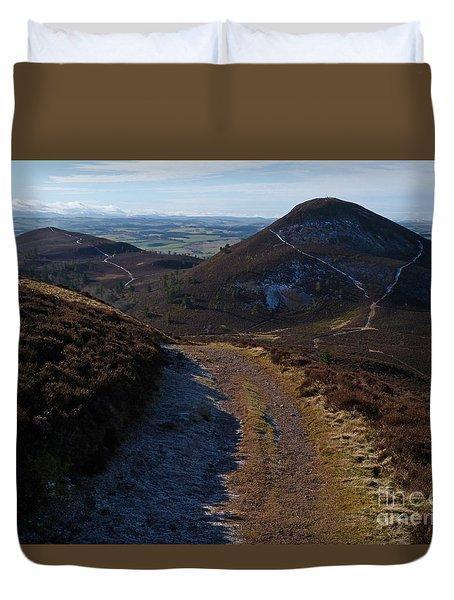 Eildon Hills Duvet Cover