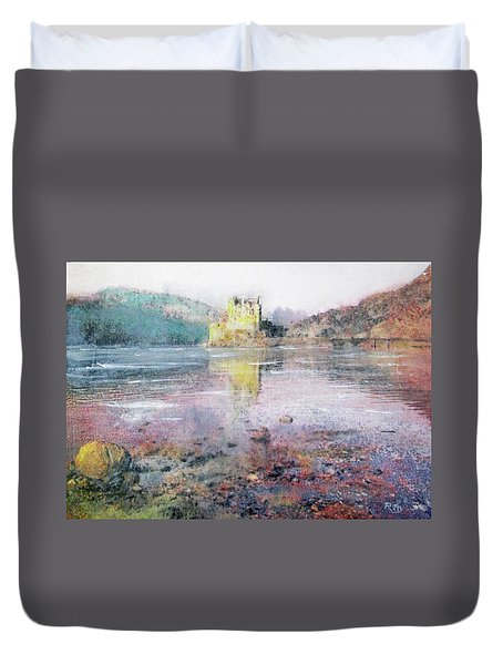 Eilean Donan Castle  Duvet Cover by Richard James Digance