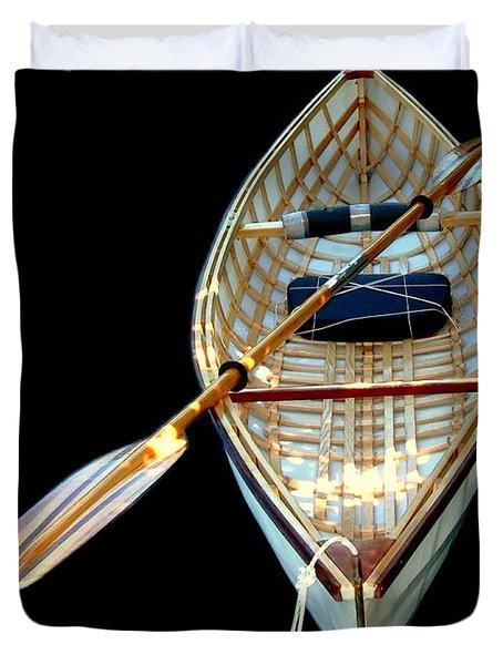 Eileen's Canoe Duvet Cover