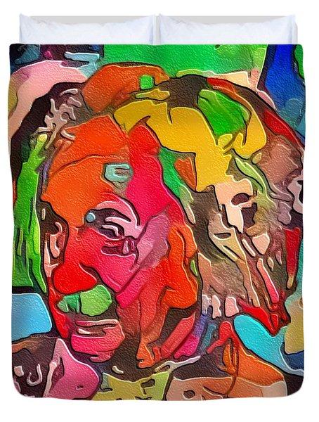 Einstein Duvet Cover