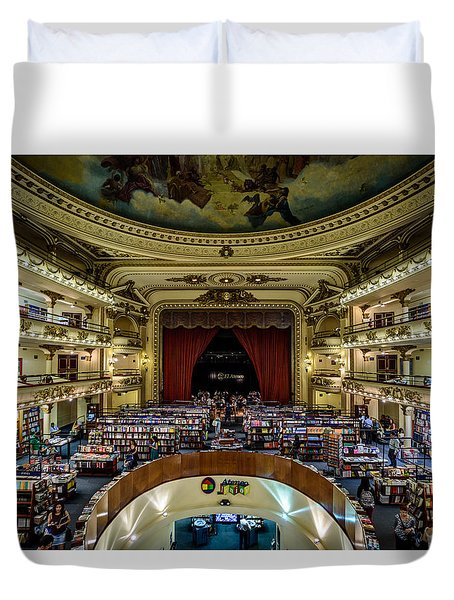 El Ateneo Grand Splendid Duvet Cover