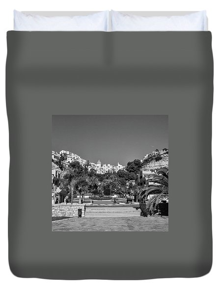 El Capistrano, Nerja Duvet Cover by John Edwards