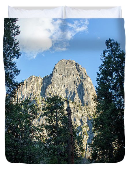 El Capitan And Trees Duvet Cover