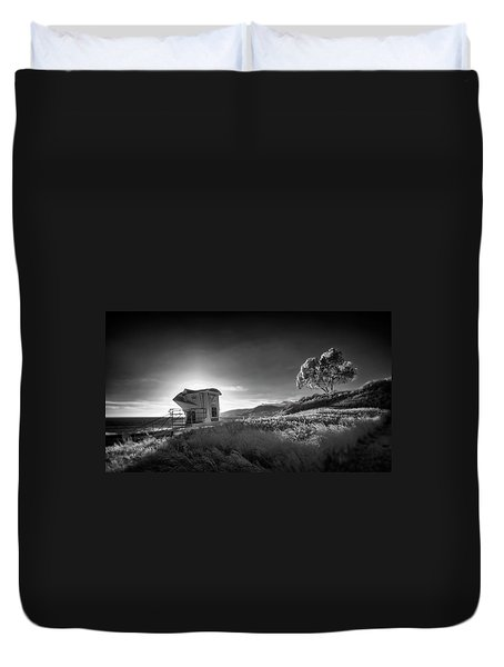Duvet Cover featuring the photograph El Capitan by Sean Foster