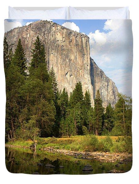 El Capitan Yosemite National Park California Duvet Cover