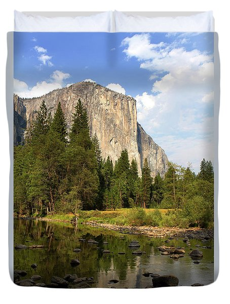 El Capitan Yosemite National Park California Duvet Cover