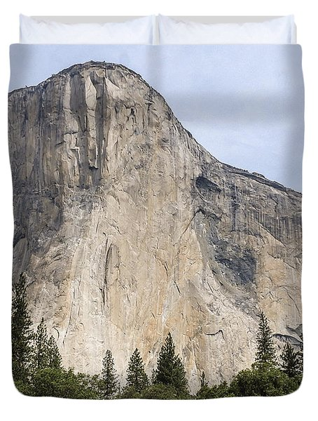 El Capitan Yosemite Valley Yosemite National Park Duvet Cover
