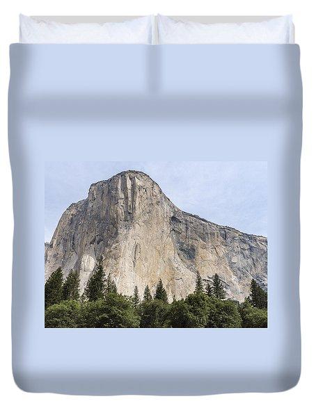 El Capitan Yosemite Valley Yosemite National Park Duvet Cover