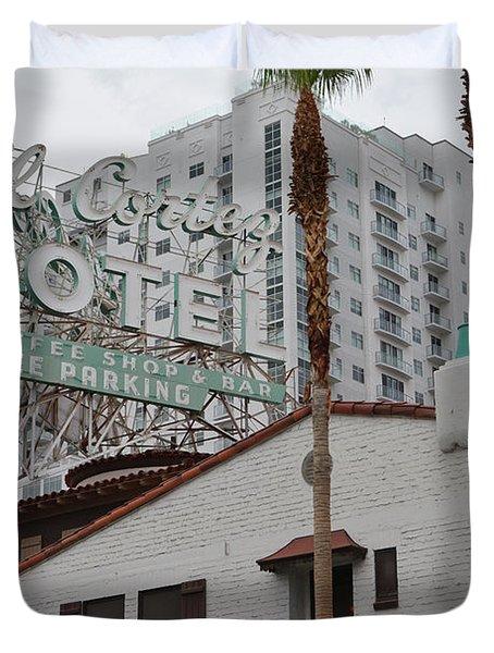 El Cortez Hotel Las Vegas Duvet Cover