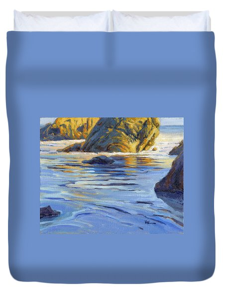 Pacific Reflections 2 Duvet Cover
