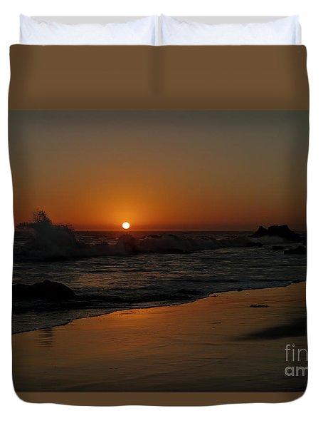 El Matador Sunset Duvet Cover by Ivete Basso Photography