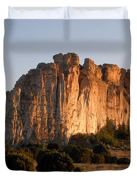 El Morro Duvet Cover by David Lee Thompson