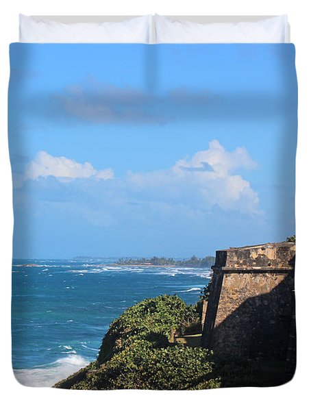 El Morro View Duvet Cover