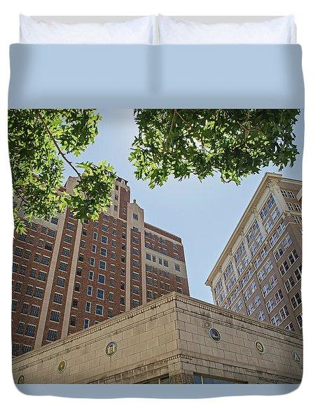 El Paso - Buildings Duvet Cover