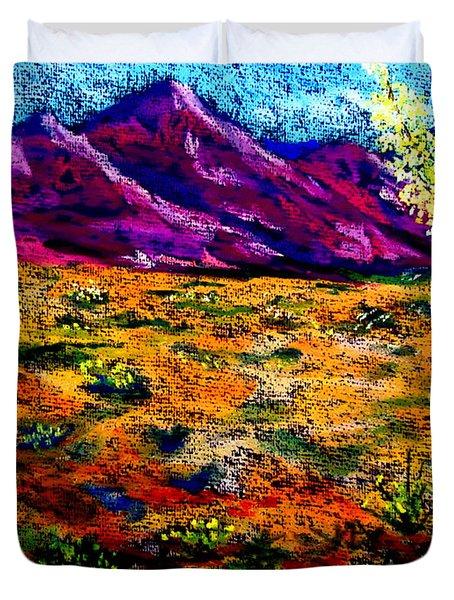 El Paso Duvet Cover
