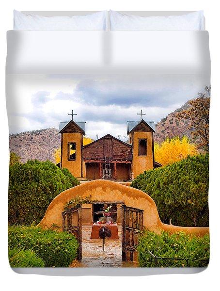 El Santuario De Chimayo Study 4 Duvet Cover