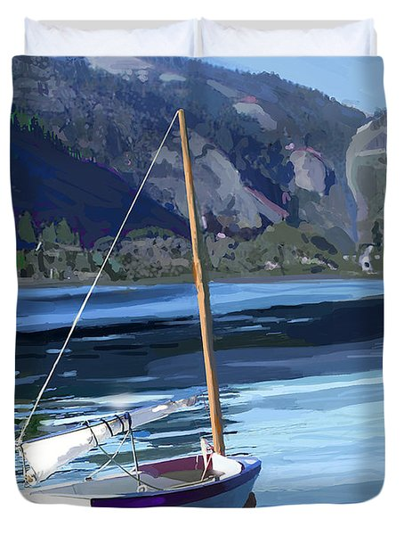 El Toro And Pinecrest Duvet Cover