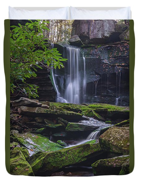 Elakala Falls Duvet Cover