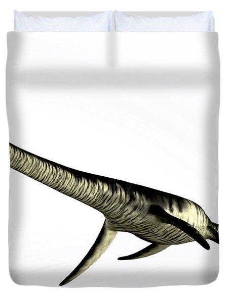 Elasmosaurus Marine Reptile Duvet Cover