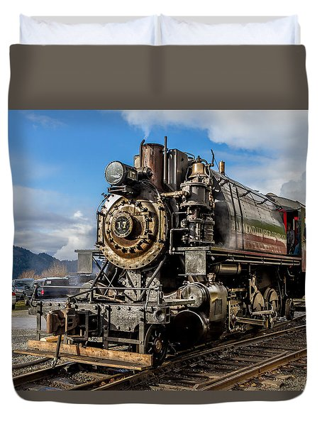 Elbe Steam Engine 17 - 2 Duvet Cover